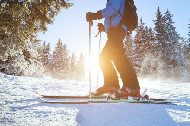 learn skiing as adults