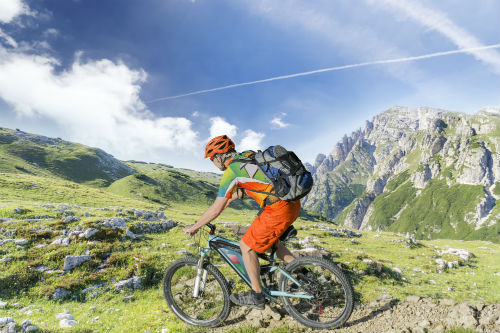 summer in the dolomites for bikers