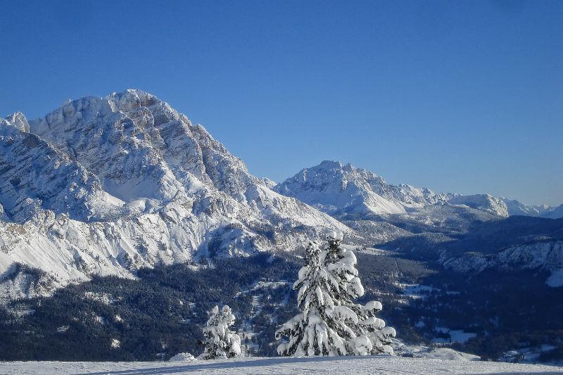 imparare a sciare a cortina d'ampezzo