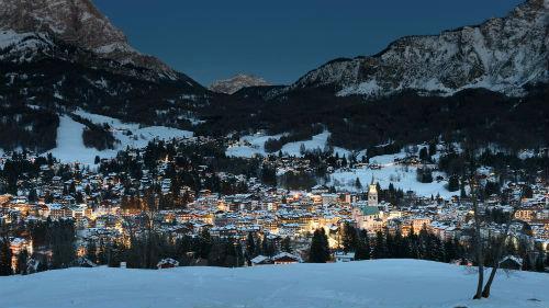 skiing in Cortina d'Ampezzo