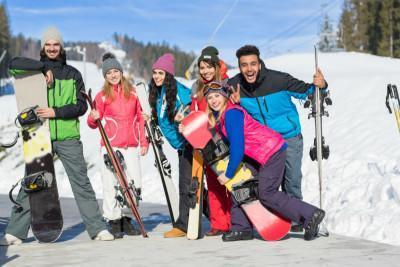 lezioni di sci per principianti