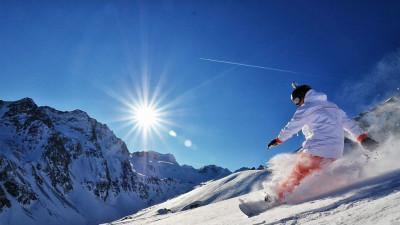 imparare lo snowboard sulle dolomiti