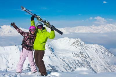 Corsi di sci per principianti a Cortina