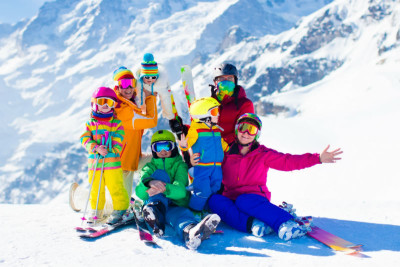 Scuola Sci per bambini a Cortina D Ampezzo
