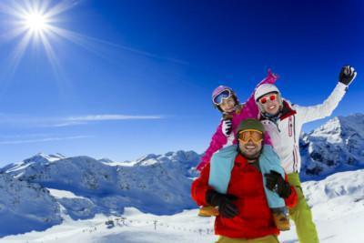 scuola di sci a cortina vacanza completa