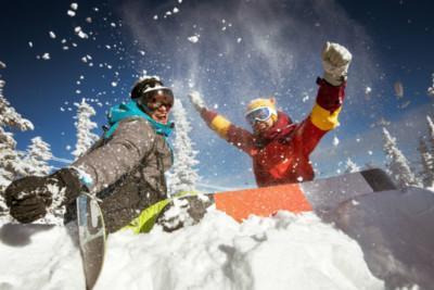 Scuola di snowboard a Cortina