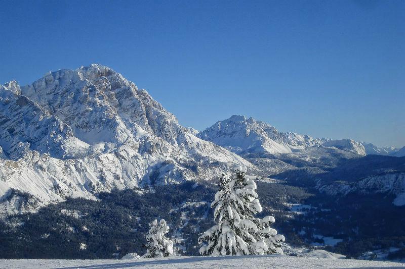 learn skiing in Cortina d'Ampezzo