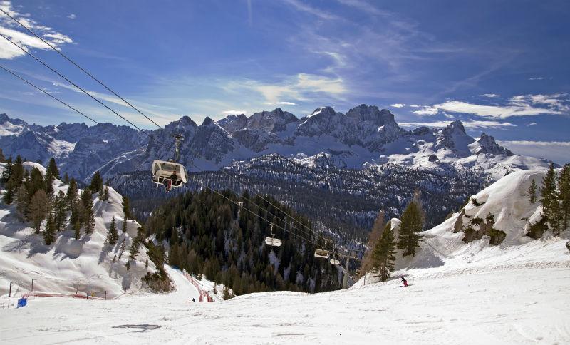vacanze a cortina con corso sci