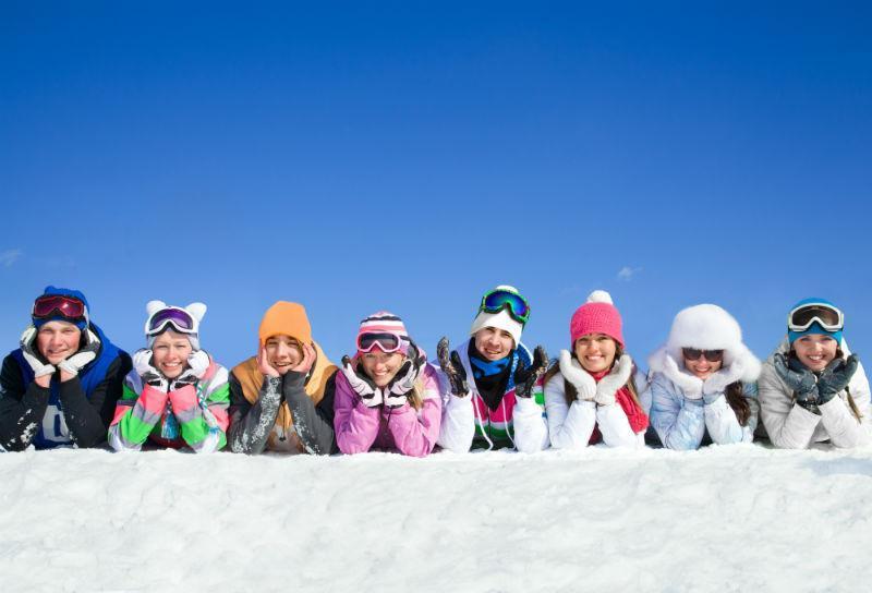 vacation in Cortina ski school included