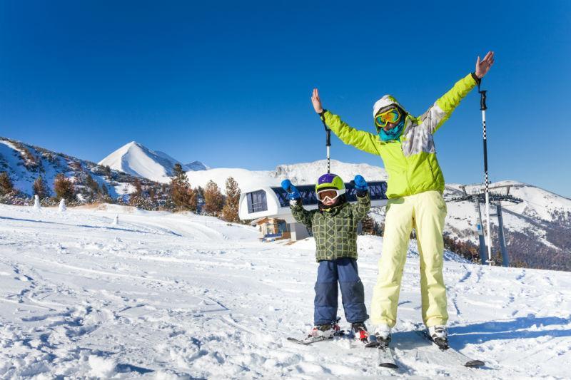 Maestri di sci a Cortina