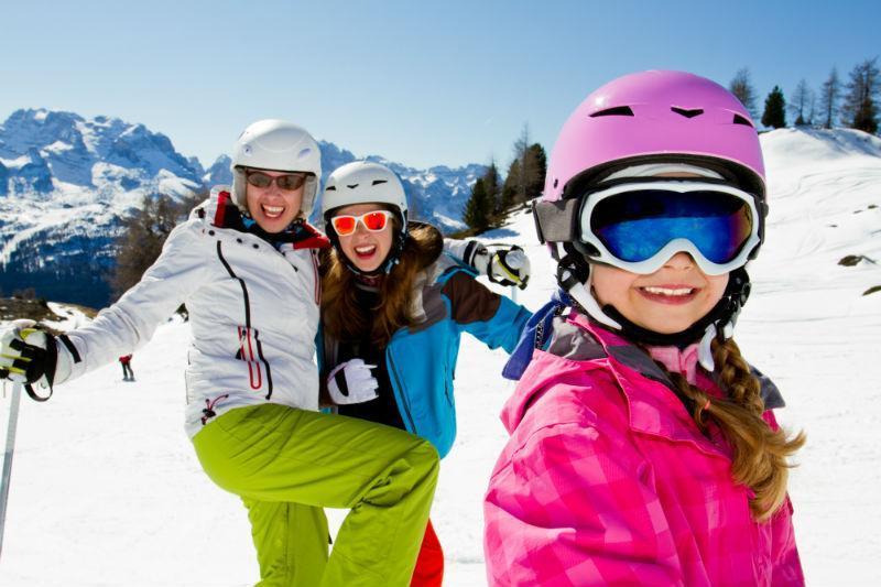 Corsi sci per ragazzi a Cortina